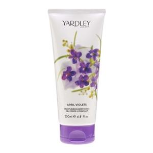 April Violets by Yardley for Women Body Wash 6.7 oz