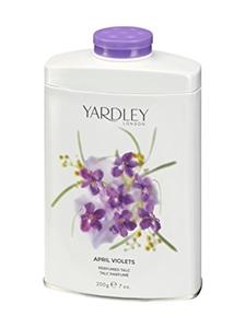 April Violets by Yardley for Women Perfumed Tac 7.0 oz