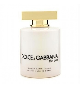 Dolce & Gabbana The One by Dolce & Gabbana for Women Body Lotion Golden Satin Unboxed 6.7