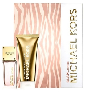 Michael Kors Glam Jasmine by Michael Kors for Women 2 Piece Set Includes: 1.7 oz Eau de Parfum Spray + 3.4 oz Body Lotion