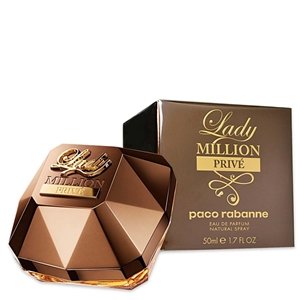 Lady Million Prive by Paco Rabanne for Women Eau de Parfum Spray 1.7 oz