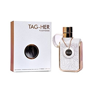 Tag Her Pour Femme by Armaf for Women Eau de Parfum Spray 3.4 oz