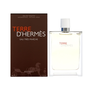 Terre D'Hermes Eau Tres Fraiche by Hermes for Men Eau de Toilette Spray 6.7 oz