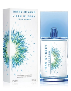 L'eau d'issey Summer 2016 by Issey Miyake for Men Eau de Toilette Spray 4.2 oz