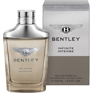Bentley Infinite Intense by Bentley for Men Eau de Parfum Spray 3.4 oz