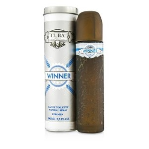 Cuba Winner by Cuba for Men Eau de Toilette Spray 3.3 oz