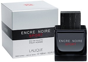 Encre Noire Sport by Lalique for Men Eau de Toilette Spray 3.3 oz