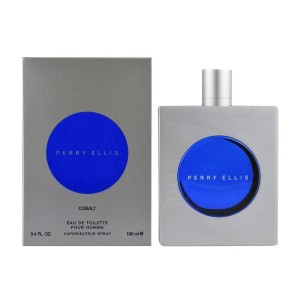 Perry Ellis Cobalt by Perry Ellis for Men Eau de Toilette Spray 3.4 oz