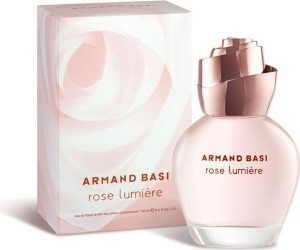 Armand Basi Rose Lumiere by Armand Basi for Women Eau de Toilette Spray 3.4 oz