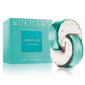 Bvlgari Omnia Paraiba by Bvlgari for Women Eau de Toilette Spray 0.5 oz