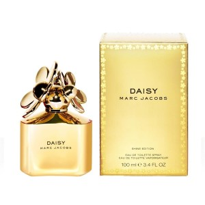 Daisy Shine Gold Edition by Marc Jacobs for Women Eau de Toilette Spray 3.4 oz