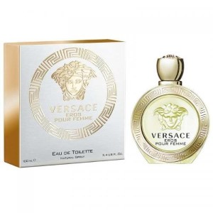 Versace Eros pour Femme by Versace for Women Eau de Toilette Spray 3.4 oz