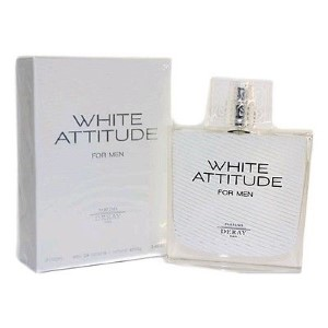 White Attitude by Deray for Men Eau de Toilette Spray 3.4 oz