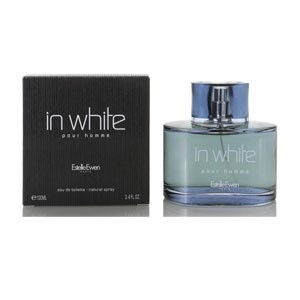 IN White Pour Homme by Estelle Ewen for Men Eau de Toilette Spray 3.4 oz