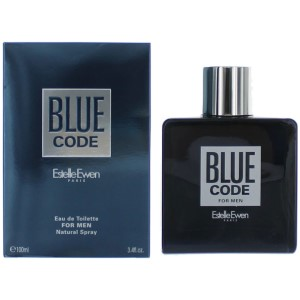 Blue Code by Estelle Ewen for Men Eau de Toilette Spray 3.4 oz