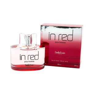 IN Red Pour Homme by Estelle Ewen for Men Eau de Toilette Spray 3.4 oz
