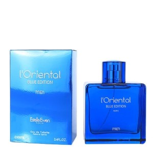 L'Oriental Blue Edition by Estelle Ewen for Men Eau de Toilette Spray 3.4 oz