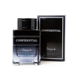 Confidential by Gemina B for Men Eau de Toilette Spray 3.0 oz