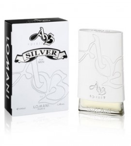 AB Spirit Silver by Lomani  for Men Eau de Toilette Spray 3.4 oz