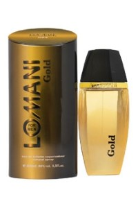Lomani Gold by Lomani for Men Eau de Toilette Spray 3.3 oz