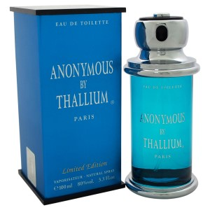 Thallium Anonymous by Jacques Evard for Men Eau de Toilette Spray 3.3 oz