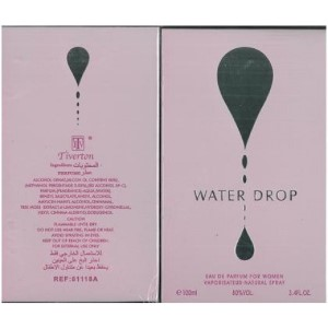 Tiverton Water Drop by Tiverton for Women Eau de Parfum Spray 3.4 oz