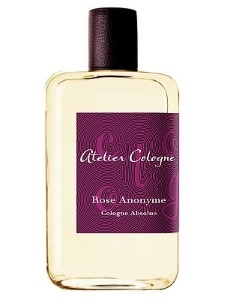Atelier Cologne Rose Anonyme by AtelierUnisex Cologne Absolue  3.3 oz