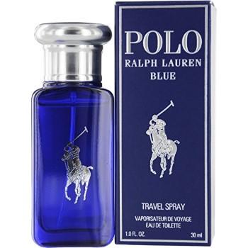 Polo Blue by Ralph Lauren Eau de Toilette Spray 1.0 oz for Men