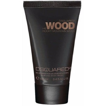 Rocky Mountain Wood by Dsquared2 Hair & Body Wash 3.4 oz for Men