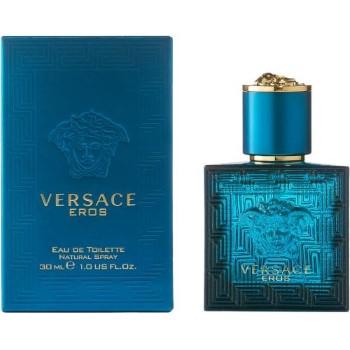 Versace Eros by Versace Eau de Toilette Spray 1.0 oz for Men