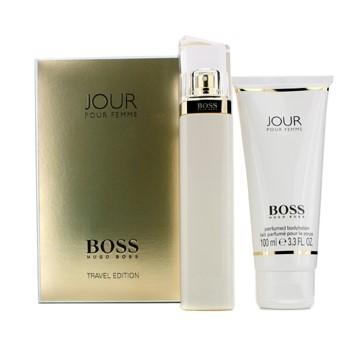 Boss Jour Pour Femme by Hugo Boss for Women Set Includes: Eau de Parfum Spray 2.5 oz + Body Lotion 3.3 oz