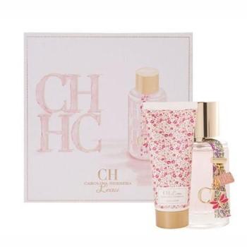 CH L'Eau by Carolina Herrera for Women Set Includes: Eau Fraiche Spray 1.7 oz + Body Lotion 3.4 oz
