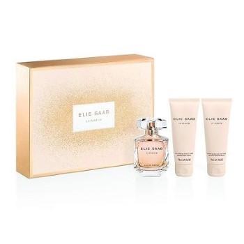 Elie Saab by Elie Saab for Women Set Includes: Eau de Parfum Spray 1.6 oz + Body Lotion 2.5 oz + Shower Cream 2.5 oz