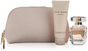 Elie Saab by Elie Saab for Women Set Includes: Eau de Parfum Spray 1.6 oz + Body Lotion 2.5 oz + Beauty Pouch