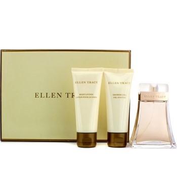 Ellen Tracy by Ellen Tracy for Women Set Includes: Eau de Parfum Spray 3.4 oz + Body Lotion 3.4 oz + Shower Gel 3.4 oz