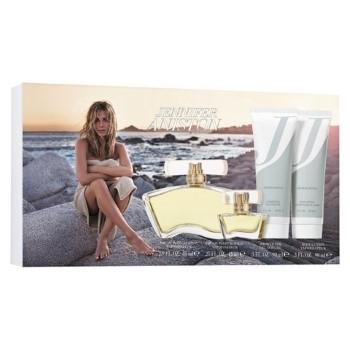 Jennifer Aniston by Jennifer Aniston for Women Set Includes: Eau de Parfum Spray 2.9 oz + Body Lotion 3.0 oz + Shower Gel 3.0 oz + Eau de Parfum Spray Mini 0.25 oz