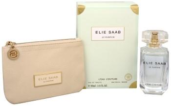 L'Eau Couture by Elie Saab for Women Set Includes: L'Eau Couture Eau de Toilette Spray 1.6 oz + Elie Saab Mini Pouch