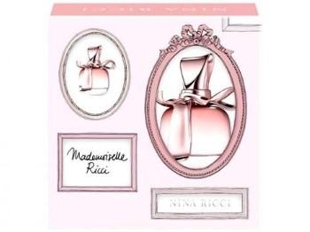 Mademoiselle Ricci by Nina Ricci for Women Set Includes: Eau de Parfum Spray 1.7 oz + Eau de Parfum Splash Mini 0.14 oz