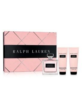 Midnight Romance by Ralph Lauren for Women Set Includes: Eau de Parfum Spray 3.4 oz + Body Lotion 2.5 oz + Shower Gel 2.5 oz