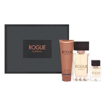 Rogue By Rihanna by Rihanna for Women Set Includes: Eau de Parfum Spray 4.2 oz + Eau de Parfum Spray 0.5 oz + Body Lotion 3.0 oz