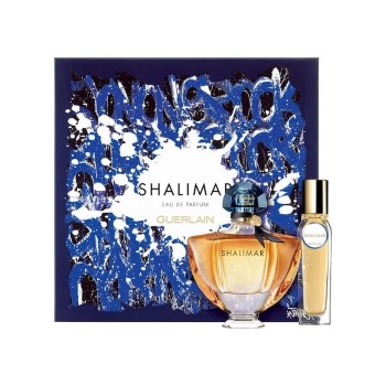 Shalimar by Guerlain for Women Set Includes: Eau de Parfum Spray 1.6 oz + Eau de Parfum Spray 0.5 oz