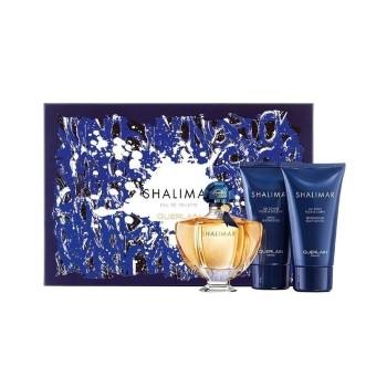 Shalimar by Guerlain for Women Set Includes: Eau de Toilette Spray 1.6 oz + Shower Gel 2.5 oz + Body Lotion 2.5 oz