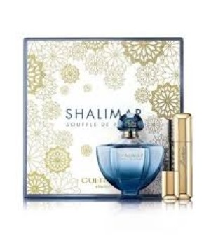 Shalimar by Guerlain for Women Set Includes: Shalimar Eau de Toilette Spray 1.7 oz + Cils Denfer Mascara 0.28 oz