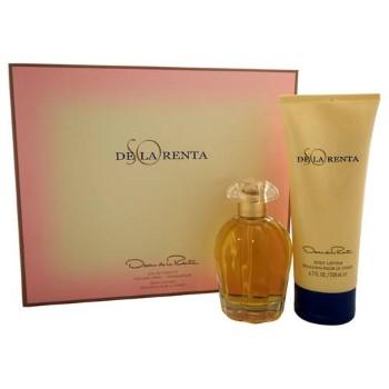So De La Renta by Oscar De La Renta for Women Set Includes: Eau de Toilette Spray 3.4 oz + Body Lotion 6.7 oz