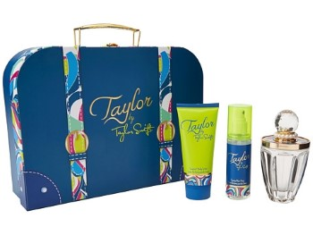 Taylor by Taylor Swift for Women Set Includes: Eau de Parfum Spray 3.4 oz + Body Lotion 3.4 oz + Scented Hair Mist 2.7 oz