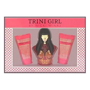 Trini Girl by Nicki Minaj for Women Set Includes: Eau de Parfum Spray 1.7 oz + Body Lotion 1.7 oz + Shower Gel 1.7 oz