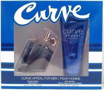 Curve Appeal by Liz Claiborne for Men Set Includes: Cologne Spray 2.5 oz + Skin Soother 3.4 oz