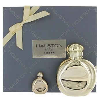 Halston Man by Halston for Men Set Includes: Eau de Toilette Spray 4.2 oz + Eau de Toilette Mini 0.25 oz