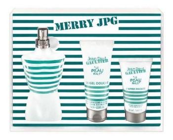 """Jean Paul Gaultier Le Beau Male """"Fraichur Intense"""" by Jean Paul Gaultier for Men Set Includes: Eau de Toilette Fraicheur Intense Spray 4.2 oz + Allover Shower Gel 2.5 oz + After Shave Balm 1.6 oz"""