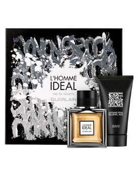 L'Homme Ideal by Guerlain for Men Set Includes: Eau de Toilette Spray 1.6 oz + Shower Gel 2.5 oz